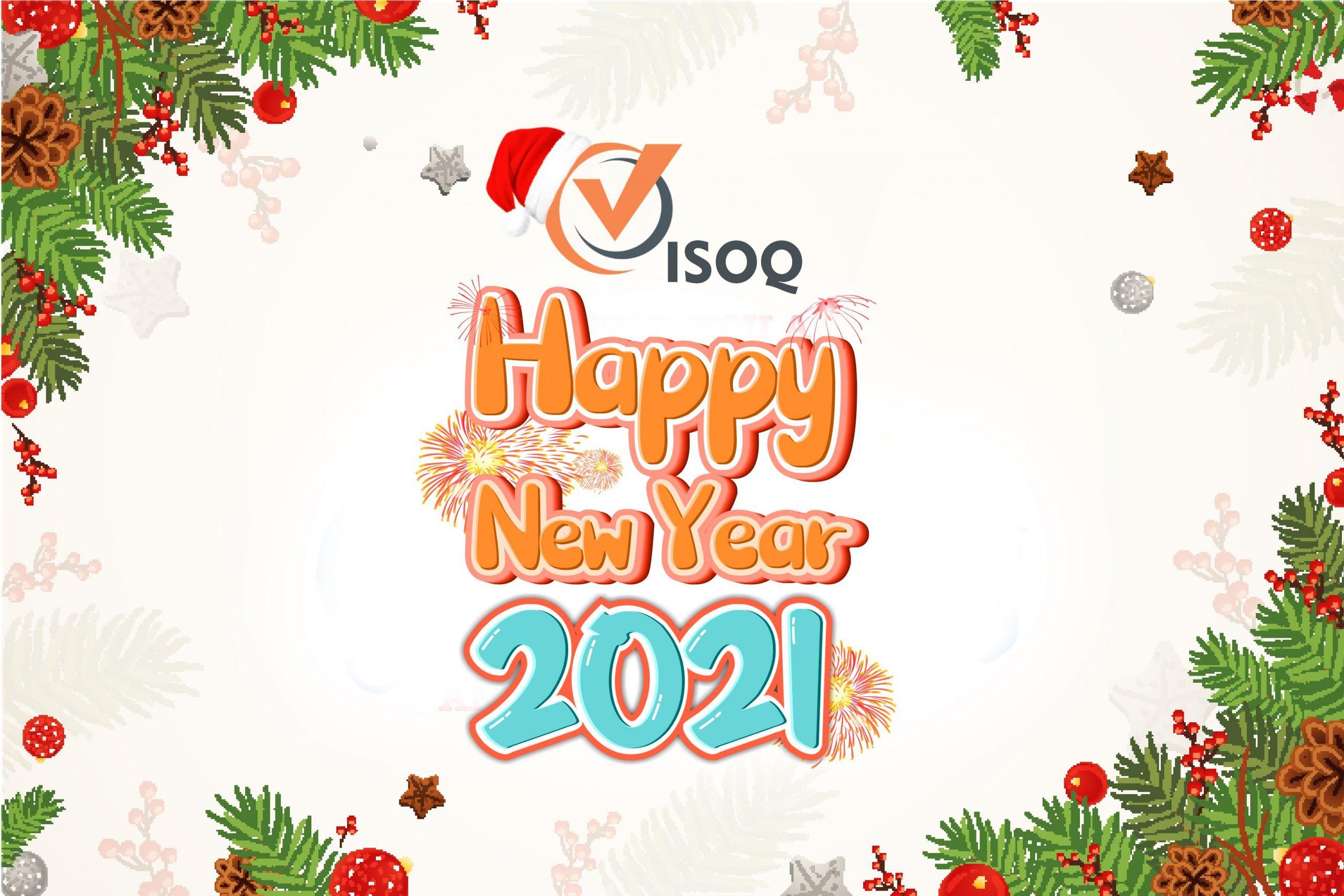 ISOQ Việt Nam Chúc mừng năm mới 2021